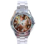 Tarantula Nebula Central Portion Stainless Steel Analogue Watch Front