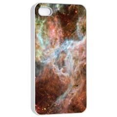 Tarantula Nebula Central Portion Apple iPhone 4/4s Seamless Case (White)