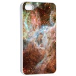 Tarantula Nebula Central Portion Apple iPhone 4/4s Seamless Case (White) Front