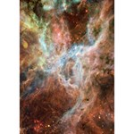 Tarantula Nebula Central Portion Heart 3D Greeting Card (7x5) Inside