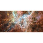 Tarantula Nebula Central Portion Happy New Year 3D Greeting Card (8x4) Back