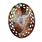 Tarantula Nebula Central Portion Ornament (Oval Filigree)  Front
