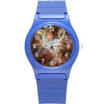Tarantula Nebula Central Portion Round Plastic Sport Watch (S) Front