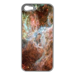 Tarantula Nebula Central Portion Apple iPhone 5 Case (Silver)