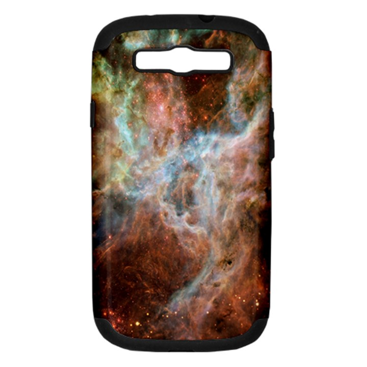 Tarantula Nebula Central Portion Samsung Galaxy S III Hardshell Case (PC+Silicone)