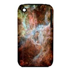 Tarantula Nebula Central Portion Apple iPhone 3G/3GS Hardshell Case (PC+Silicone)