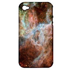 Tarantula Nebula Central Portion Apple iPhone 4/4S Hardshell Case (PC+Silicone)