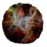 Tarantula Nebula Central Portion Large 18  Premium Round Cushions Back