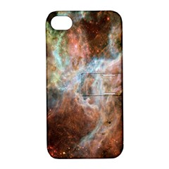 Tarantula Nebula Central Portion Apple iPhone 4/4S Hardshell Case with Stand