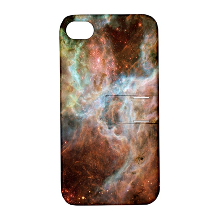 Tarantula Nebula Central Portion Apple iPhone 4/4S Hardshell Case with Stand