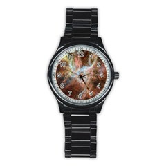 Tarantula Nebula Central Portion Stainless Steel Round Watch