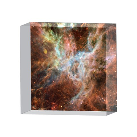 Tarantula Nebula Central Portion 4 x 4  Acrylic Photo Blocks