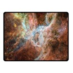 Tarantula Nebula Central Portion Double Sided Fleece Blanket (Small)  50 x40 Blanket Back