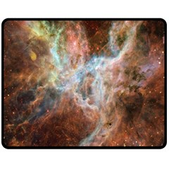 Tarantula Nebula Central Portion Double Sided Fleece Blanket (Medium)