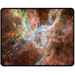 Tarantula Nebula Central Portion Double Sided Fleece Blanket (Medium)  60 x50 Blanket Back