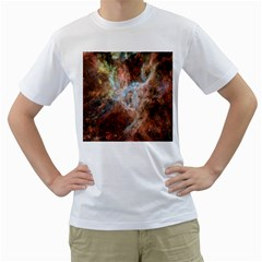 Tarantula Nebula Central Portion Men s T-Shirt (White)