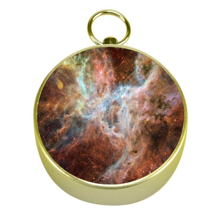 Tarantula Nebula Central Portion Gold Compasses