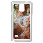 Tarantula Nebula Central Portion Samsung Galaxy Note 4 Case (White) Front