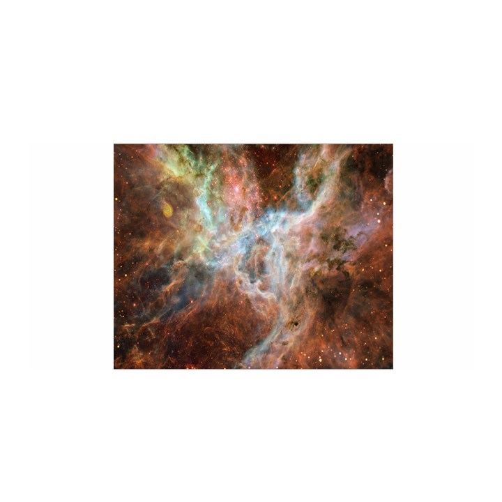 Tarantula Nebula Central Portion Satin Wrap