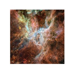 Tarantula Nebula Central Portion Small Satin Scarf (Square)