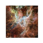 Tarantula Nebula Central Portion Small Satin Scarf (Square) Front