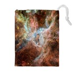 Tarantula Nebula Central Portion Drawstring Pouches (Extra Large) Front