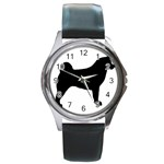 Akita Silo2 Round Metal Watch Front