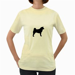 Akita Silo2 Women s Yellow T Shirt