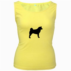Akita Silo2 Women s Yellow Tank Top