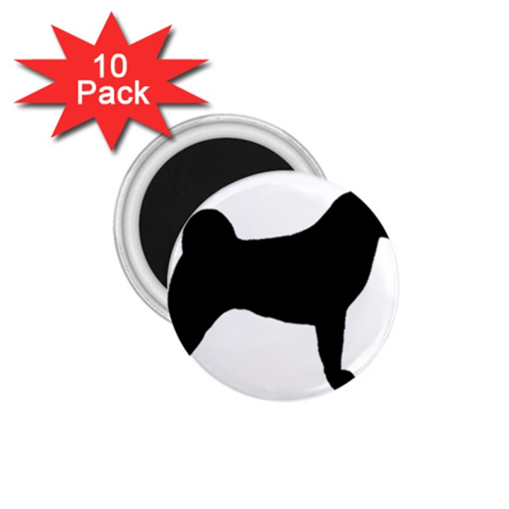 Akita Silo2 1.75  Magnets (10 pack)