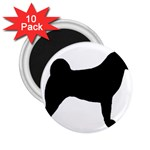 Akita Silo2 2.25  Magnets (10 pack)  Front