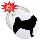 Akita Silo2 2.25  Buttons (100 pack)  Front