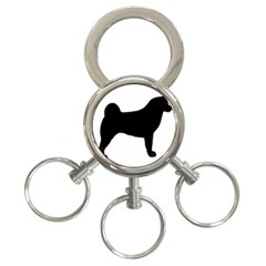 Akita Silo2 3-Ring Key Chains