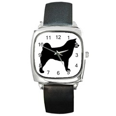 Akita Silo2 Square Metal Watch