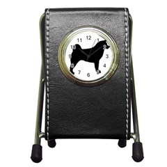 Akita Silo2 Pen Holder Desk Clocks