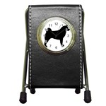 Akita Silo2 Pen Holder Desk Clocks Front