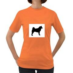 Akita Silo2 Women s Dark T-Shirt