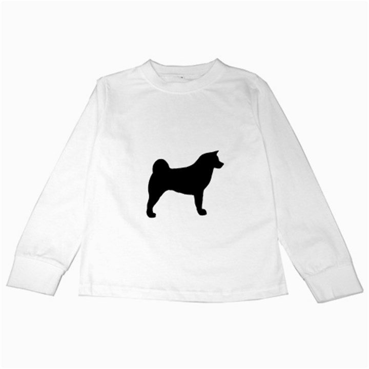 Akita Silo2 Kids Long Sleeve T-Shirts
