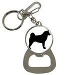 Akita Silo2 Bottle Opener Key Chains Front