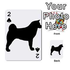 Akita Silo2 Playing Cards 54 Designs