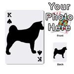 Akita Silo2 Playing Cards 54 Designs  Front - SpadeK
