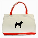 Akita Silo2 Classic Tote Bag (Red) Front