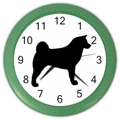 Akita Silo2 Color Wall Clocks