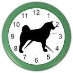 Akita Silo2 Color Wall Clocks Front