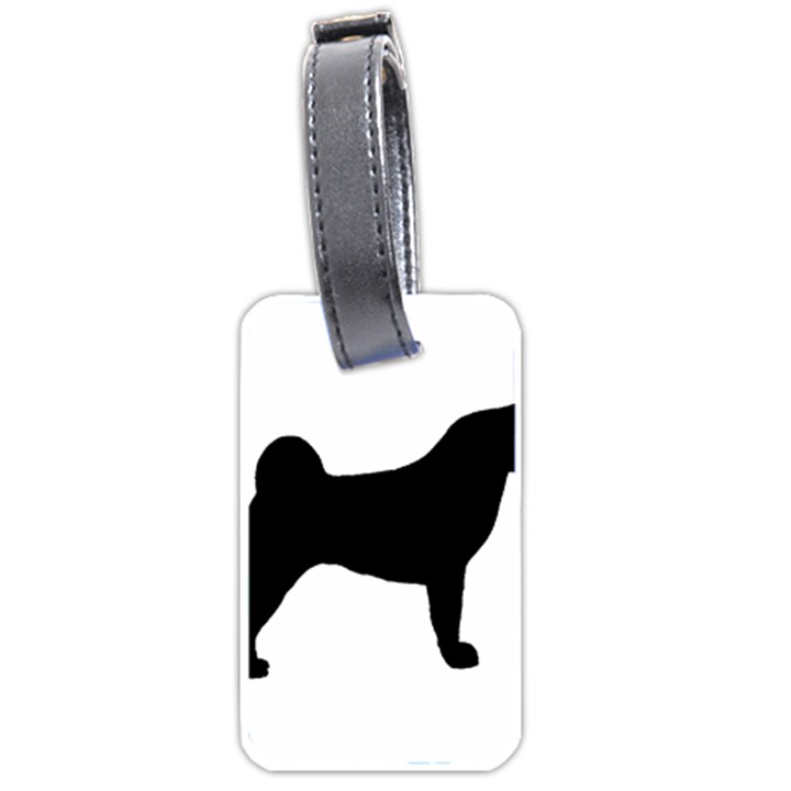Akita Silo2 Luggage Tags (Two Sides)