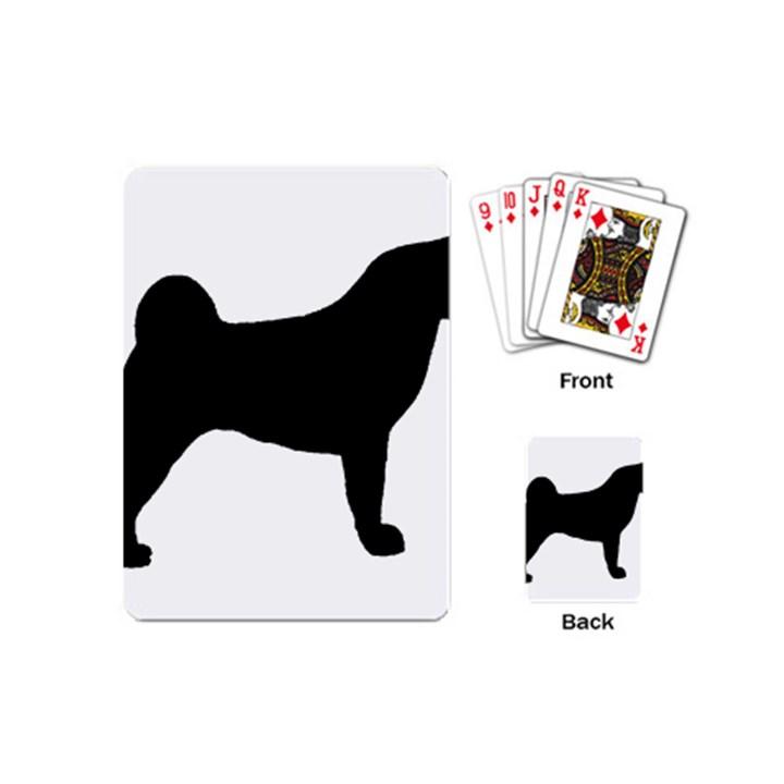 Akita Silo2 Playing Cards (Mini)