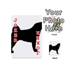 Akita Silo2 Playing Cards 54 (Mini)  Front - Joker2
