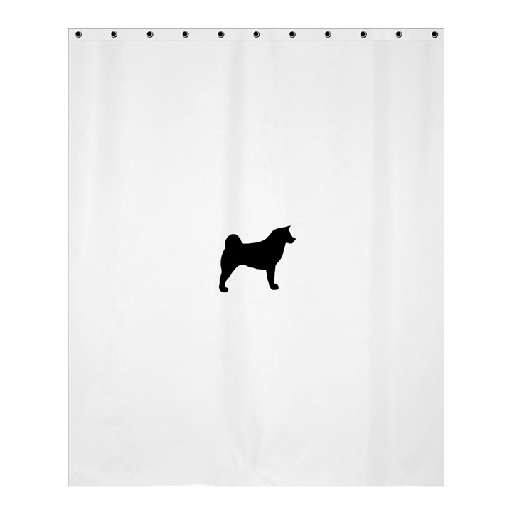 Akita Silo2 Shower Curtain 60  x 72  (Medium)