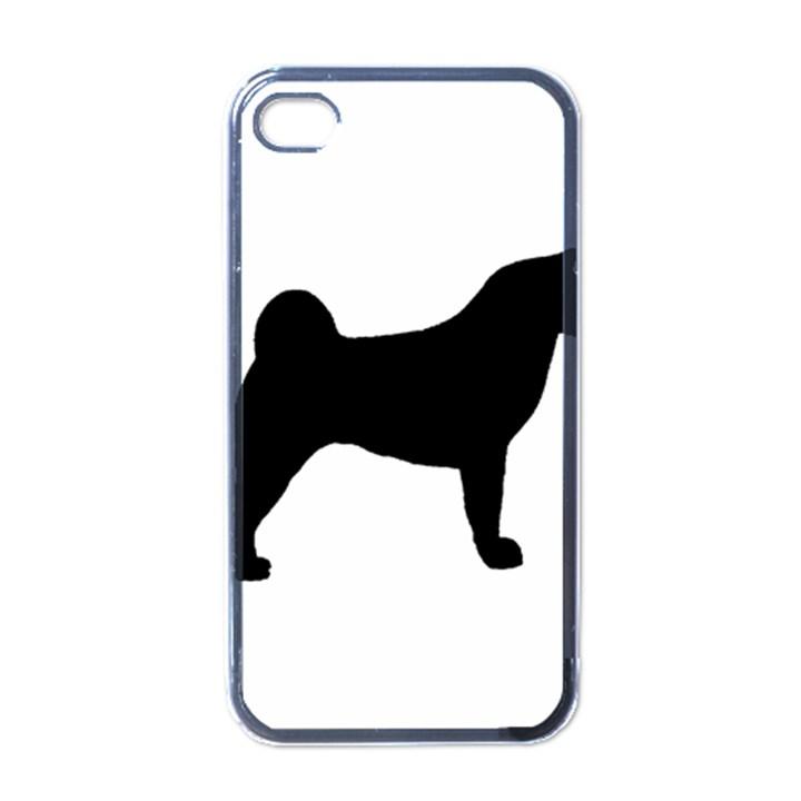 Akita Silo2 Apple iPhone 4 Case (Black)