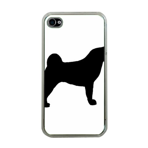 Akita Silo2 Apple iPhone 4 Case (Clear)